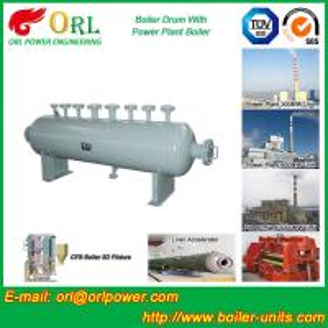 Best Mining Industry Electrical Water Boiler Mud Drum ISO9001 ASME / EN Passed wholesale