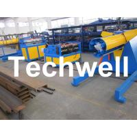 Best Carbon steel, GI Economical Simple Type Slitting Machine With 30KW, 30m/min Speed wholesale