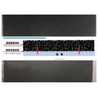 China Black Carbon Coated Aluminum Foil For Lithium Ion Batteries 0.1 - 1.2m Width on sale