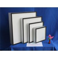 Best Fiberglass Paper Mini Pleat HEPA Air Filter For Hospital ISO9001 TS16949 wholesale