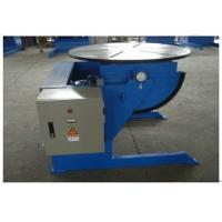 Best Small Rotary Welding Positioners With 600kg Loading Capacity , VFD Control wholesale