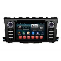 Best Nissan Teana 2014 Car GPS Navigation System Capacitive Touch Panel Android 4.1 wholesale