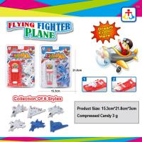Best Collection of 6 styles flying fighter plane with press candy wholesale