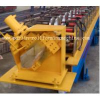 Best Half-round Seamless Gutter Roll Forming Machine High Speed Chain Transmission 16 Stations wholesale