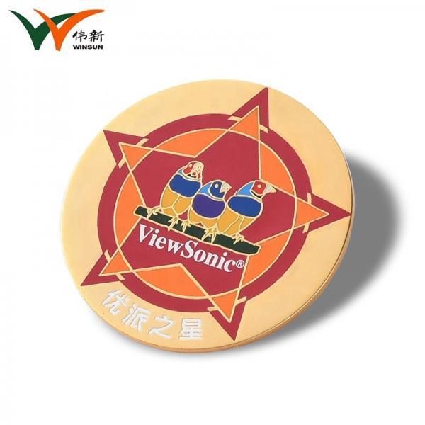 Cheap Custom Cute Pocket Enamel Lapel Pin Badges , Butterfly Suit Pin Badge for sale