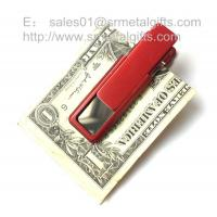 Best Retail new fashionable stainless steel money clip wallet wholesale