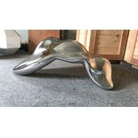 China Mirror Metal Garden Sculptures Abstract Statue Design As Building Indoor Ornament on sale