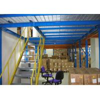 China Steel Q235 Industrial Storage Mezzanine Floors With Steel Plate 500kg/M² on sale