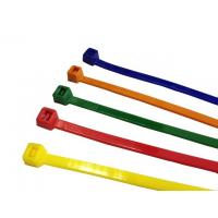 Best UL low profile Plastic nylon fireproof coloured cable ties, secure cable ties for wire wholesale