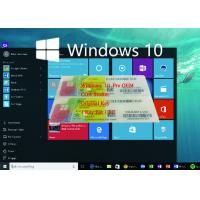 Buy cheap Genuine OEM Key License Coa License Sticker Windows 10 Product Key Sticker from wholesalers