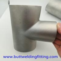 Buy cheap Dn15-3000 Stainless Steel Tee , Astm A234 Gr Wpb Butt Weld Reducing Tee from wholesalers