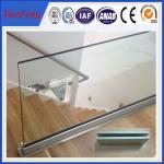 Best 6063 T5 u profile for glass railing / OEM aluminium c profile / aluminium extrusion profil wholesale