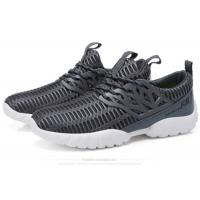 Best Lace Up Mesh Fabric Comfortable Athletic Shoes Male Lightweight Breathable Sneakers wholesale