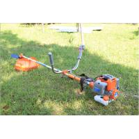 China Two Stroke Petrol Strimmer Brush Cutter , Long Pole Petrol Lawn Strimmer on sale