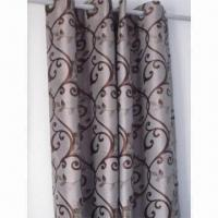 Best 100% Polyester Jacquard Heavy Window Curtain wholesale
