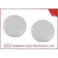 Cheap 65mm Steel Junction Box Cover C/W Screw PVC Conduit and Fittings For A B C Grade for sale