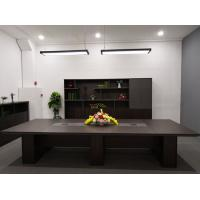 Best Wood Material Modern Conference Table , Office Meeting Table OEM / ODM wholesale