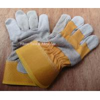 "Best 10.5"" Short Leather Welding Safety Gloves wholesale"