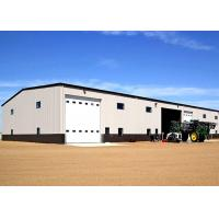 Best Long Lifespan Fireproof Steel Warehouse Construction With Auto Roller Shutter Door wholesale
