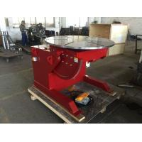 Buy cheap 1000 Kg Capacity Tilting Rotating Welding Table With Hand Control / Foot Pedal from wholesalers