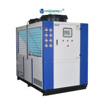 China China Chiller Manufacturer 30RT 40hp Refrigeration Water Cooling System Chiller Low Price on sale