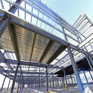 China Q355B Light Steel Frame Prefabricated Prefab Steel Structure Building on sale