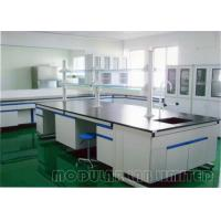 Buy cheap Floor Mounted Laboratory Work Benches with 304 SUS Phenolic Resin Epoxy Resin from wholesalers