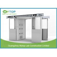 Best Class 100 Clean Room Lab Equipment , Goods Air Shower Passage For Food Factory wholesale