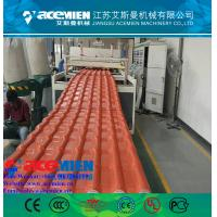 Best Hot popular pvc plastic roofing sheet extrusion machine/glazed tile equipment extrusion line wholesale