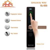 Best CE FCC Contactless Biometric Fingerprint Door Lock With IC Card Read wholesale