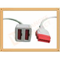 Buy cheap 11 Pin To 11 Pin GE Dual IBP Cable / IBP Converter Cable 35CM from wholesalers