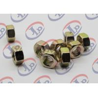 Best Swiss Lathe Precision Turned Components , Hex Color Zinc Plated 1215 Iron Nuts wholesale