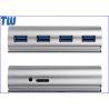 Elegance Cylinder Design 4 Ports USB 3.0 Hub with Ergonomic Slant Usb 3.0 Interface