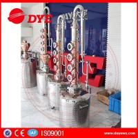 Best 150L home alcohol distiller with 6 red copper stil column plates wholesale