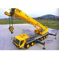 China Extended Streamline Boom Hydraulic Mobile Truck Crane 100 Tons QY100K-I on sale