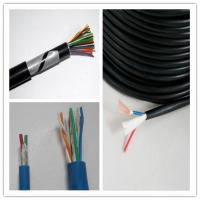 Cheap Mining Application Multi Conductor Shielded Cable , 18 Awg 6 Conductor Shielded for sale