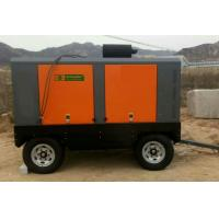 Road Construction Portable Screw Air Compressor 13 Bar 132KW 12 m³/min