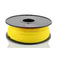 Best Yellow 3mm Nylon 3D Printer Filament Reels For Solidoodle Afinia 1kg / Spool wholesale