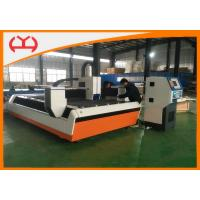 Quality Metal Sheet Fiber Laser CNC Cutting Machine 500 Watt With Two Years Warranty wholesale