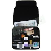 Best Gadget Bag Organizer Travel , Double Layers Neoprene Electronic Organizer Bag wholesale