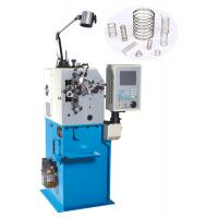 High Efficiency Wire Bending Machine , Belleville Spring Coiler Machines With 2 Axis