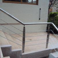 Cheap 304 316 Stair Casings Stainless Steel Rod Railing / Stair Balustrade for Sale for sale
