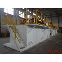 Best Oilfield well drilling rectangular mud tanks for sale at Aipu solids control wholesale