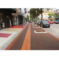 Best Outside Walkway Red Clay Paving Brick for Road Paving Smooth Face / Low Water Absorption wholesale
