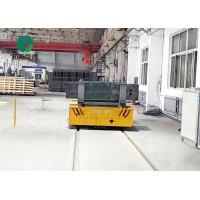 Best Heavy load factory transport automatic cable power rail mounted transfer trailer for dies wholesale