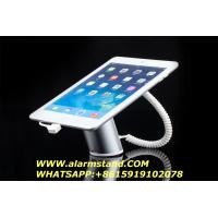 Cheap COMER anti-theft cable lock Android Tablet Pc Security Stands with gripper for for sale
