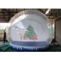 Best Customized Outdoor Snow Globe Inflatable High Transparency For Decoration wholesale