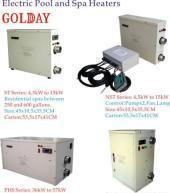 Best Swimming Pool Heaters (5kw~72kw Electric thermostats) wholesale