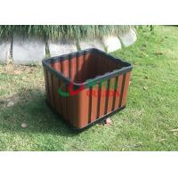 Best Recyclable 100% Composite Planter Boxes , Composite Wood Planters No Cracking wholesale