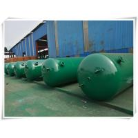 Best 10mm Thickness Vertical Compressed Air Reservoir Tank With Flange / Screw Thread Connector wholesale